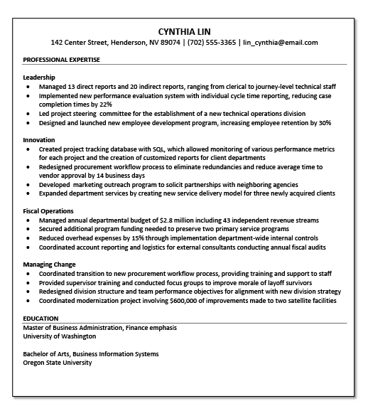 Resume Tips     LAC Jobs