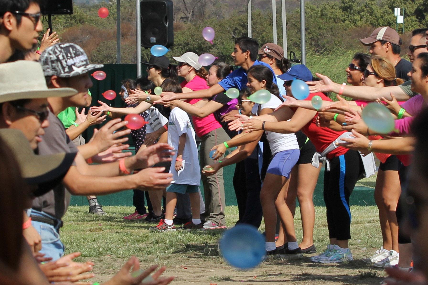 water balloon game