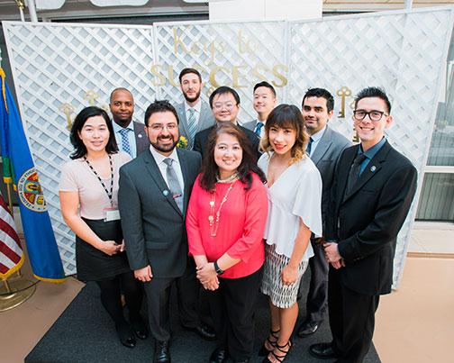 Administrative Intern program group photo