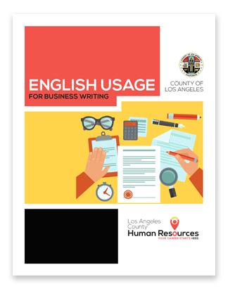 English Usage for business writing cover