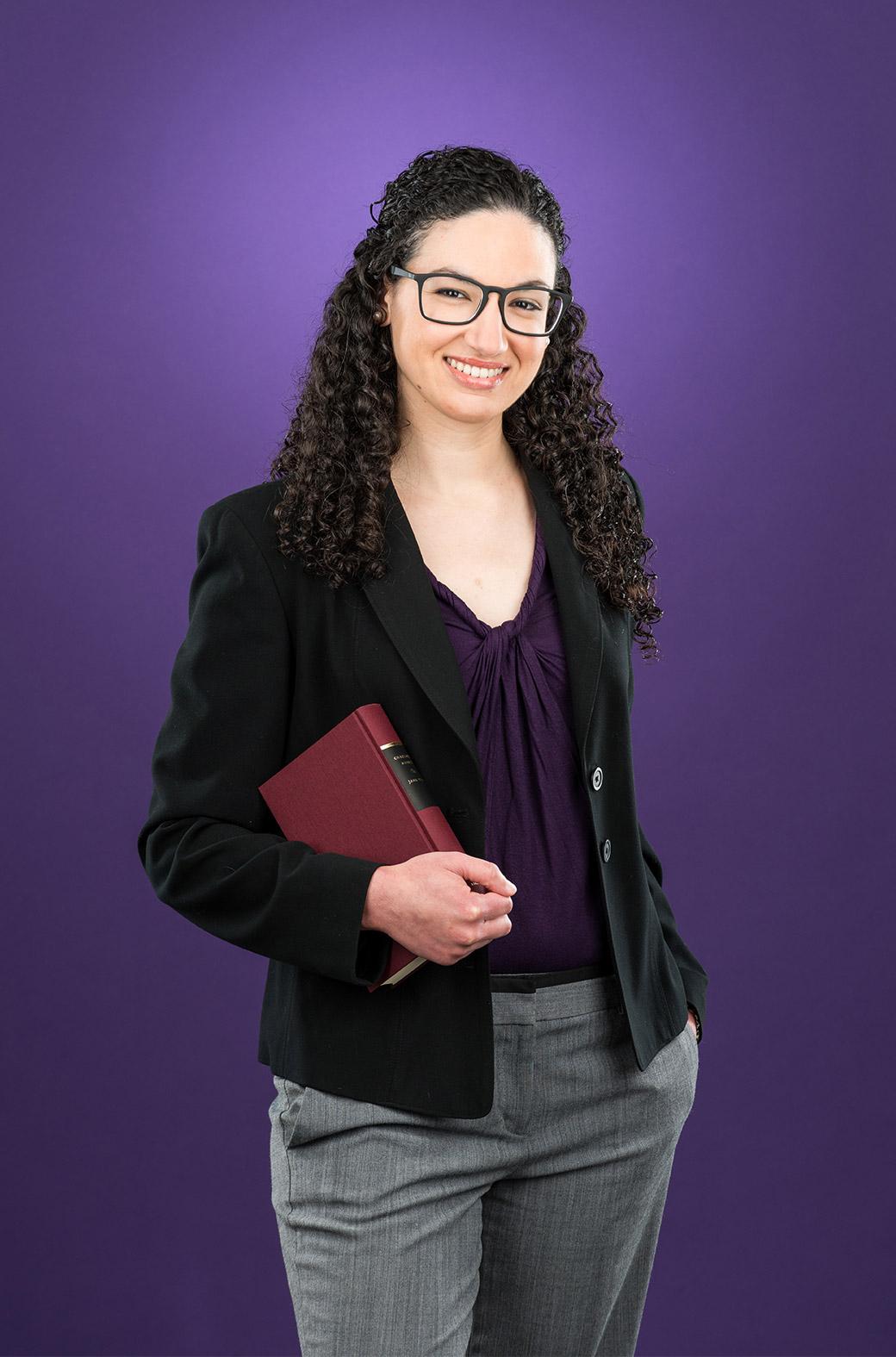 County Employee Allison Ortiz
