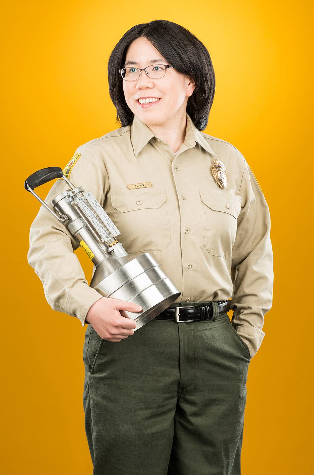 County Employee Lina Ng