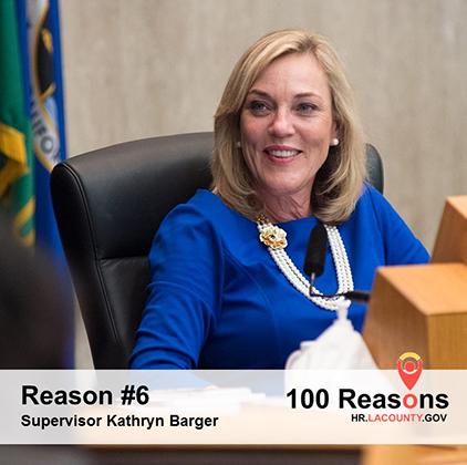 Portrait image of Supervisor Kathryn Barger